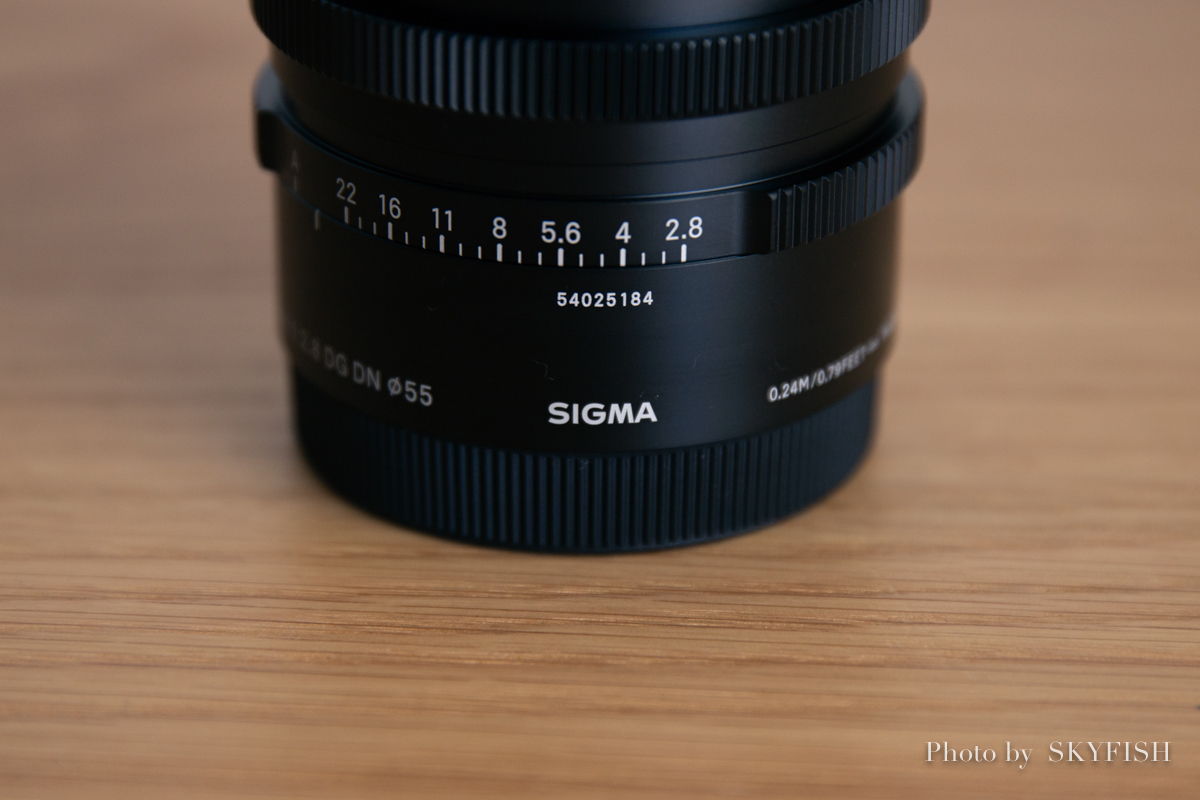 SIGMA 45mm