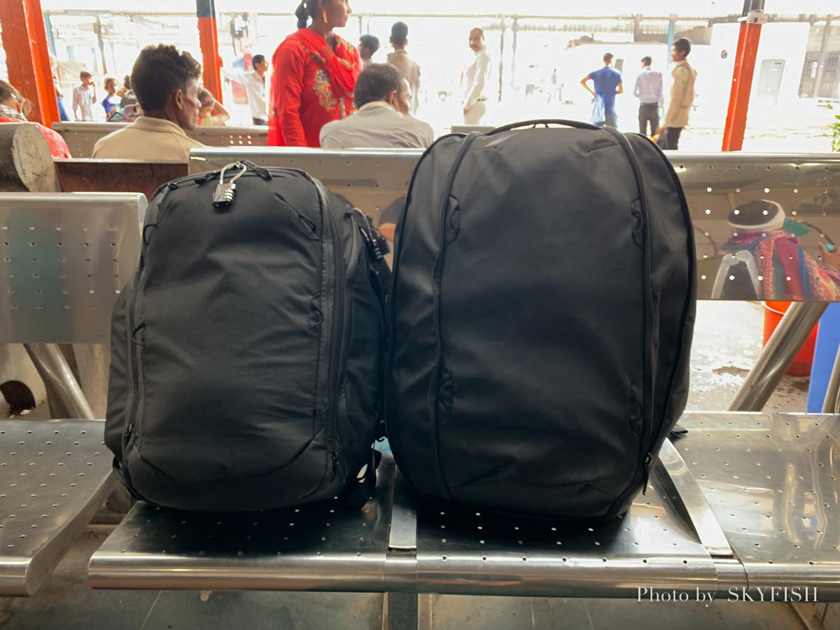 インド旅行の荷物