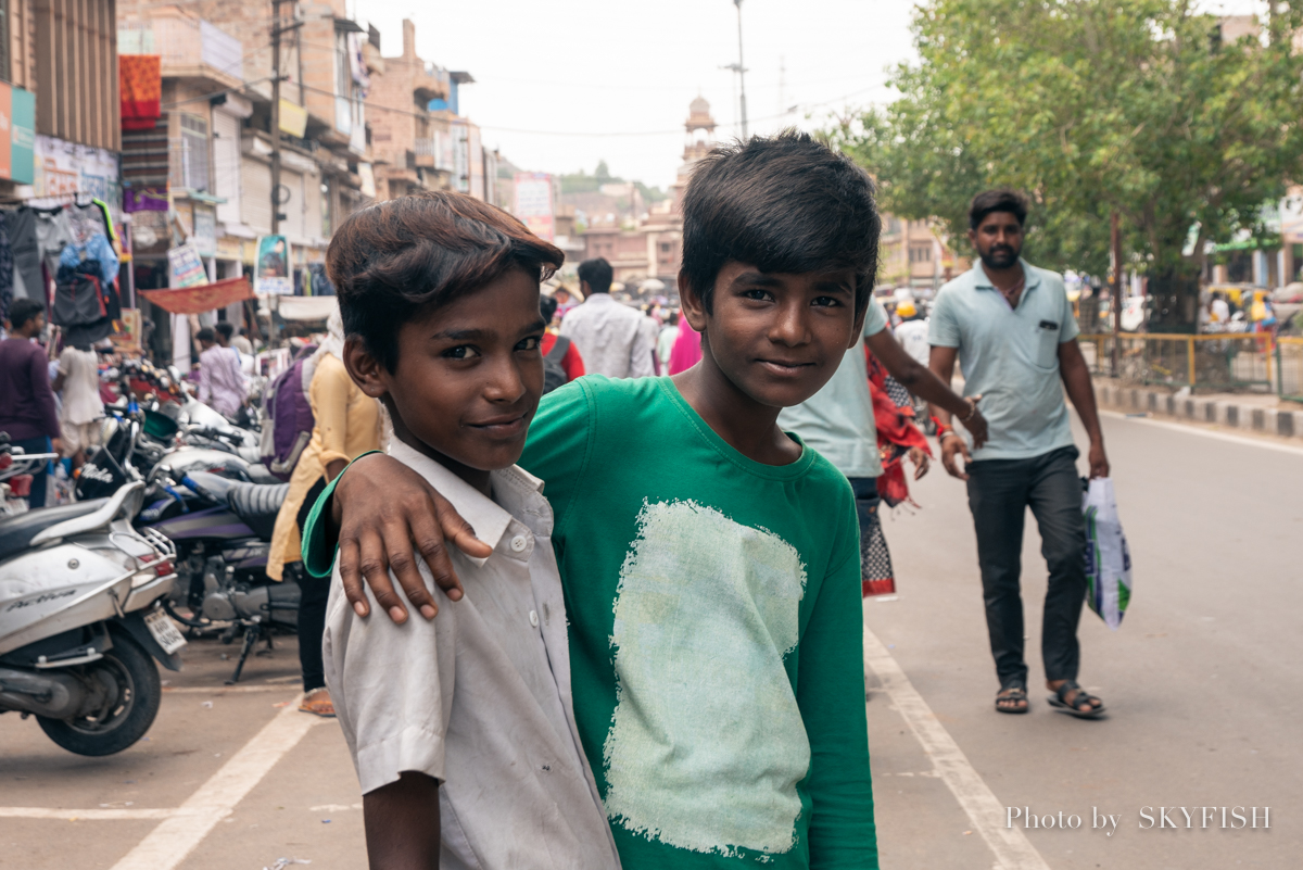 インドで撮影したポートレート写真