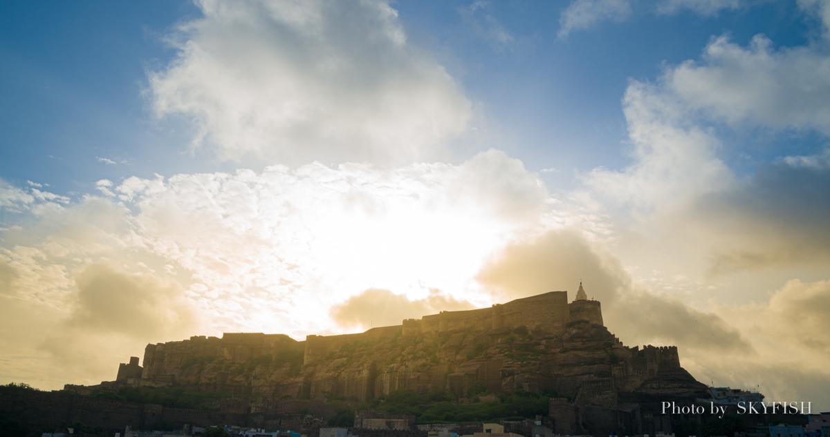 インドのメヘランガール城塞