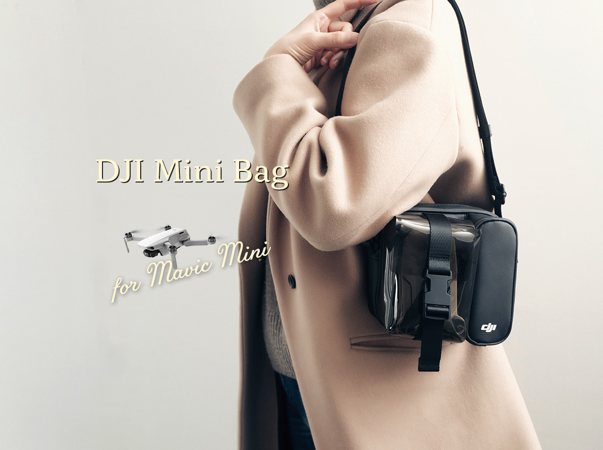 Mavic mini用のDJI MINIバッグの写真