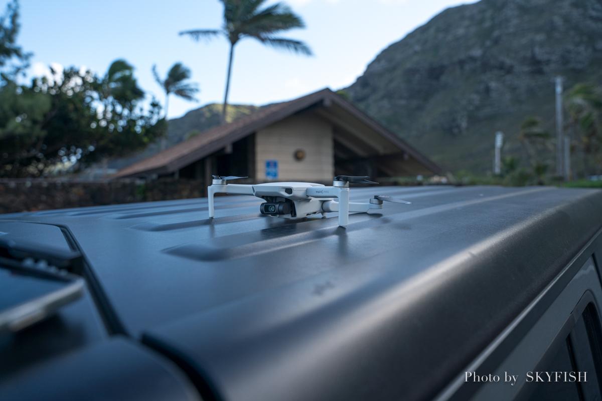 ハワイのドローンの写真