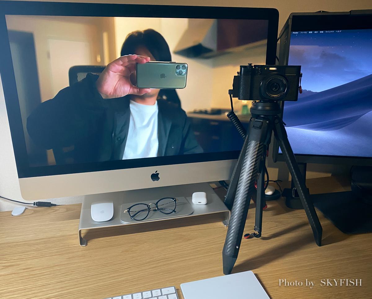 デジカメをウェブカメラに利用