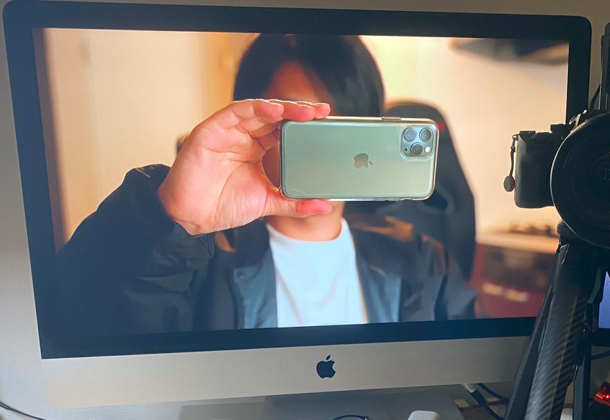 デジカメでwebカメラ