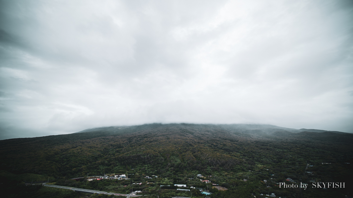 伊豆大島の黒砂漠