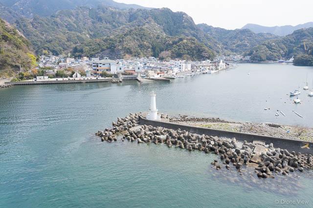 安良里港(灯台)