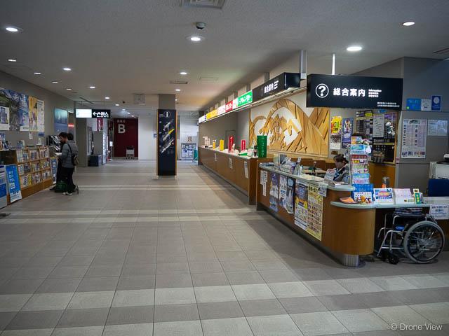 旭川空港(レンタカーカウンター)
