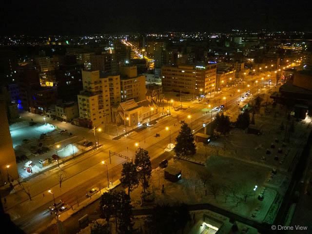 旭川の夜景