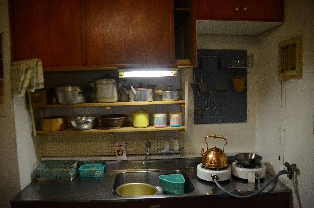 常盤平団地の台所