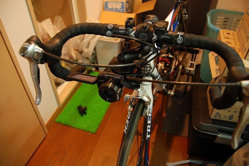 自転車用 自転車用カメラマウント : 個別「自転車にRAMマウント ...