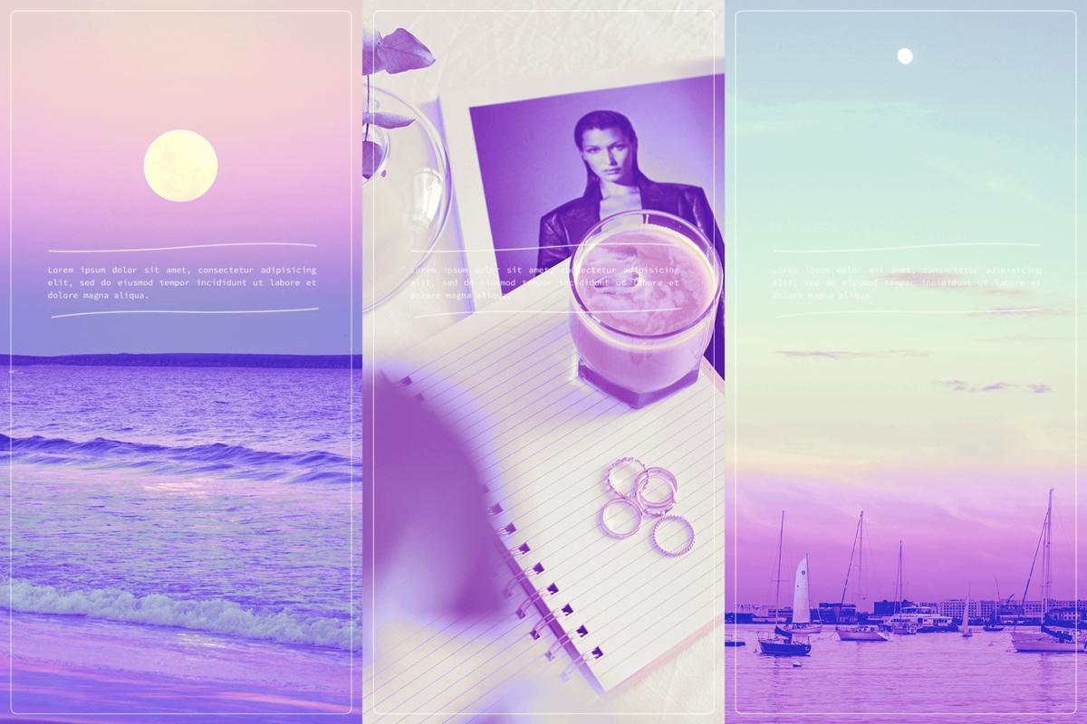 photoshop用ピンクの加工フィルター④