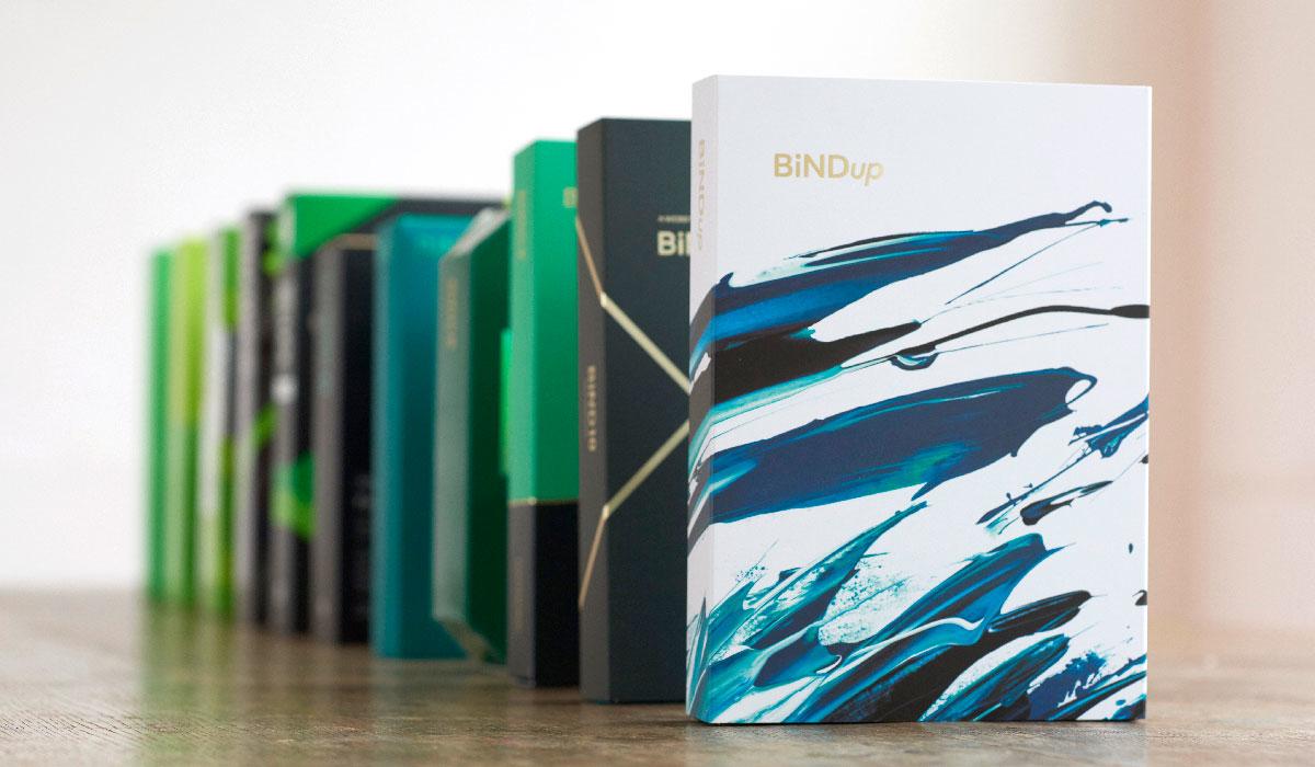 BiNDのパッケージデザイン