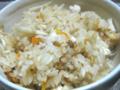 [料理]鶏ごぼう飯