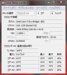 Intel Core i7 3770K 殻割り前
