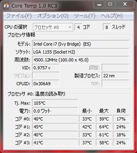 Intel Core i7 3770K 殻割り後