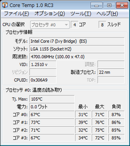 CPU 情報