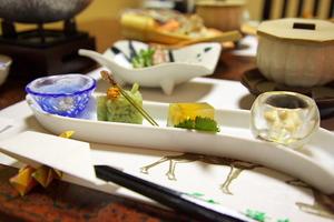 鹿の湯ホテル - 夕食(2012.07.22)