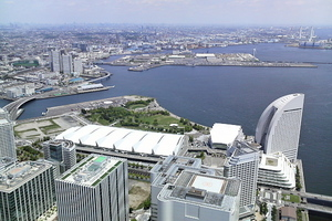 P906i 横浜ランドマークタワー(2010.05.15)
