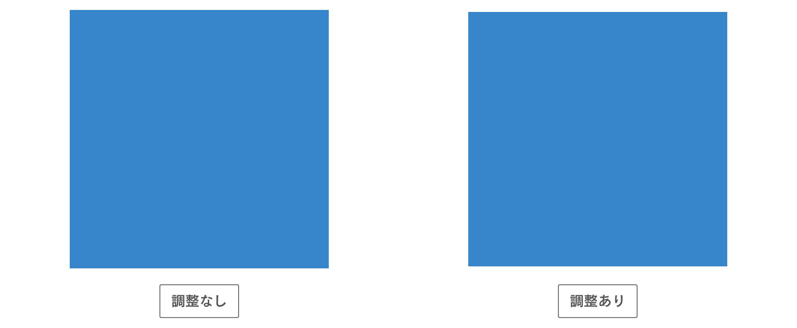 正方形の比較
