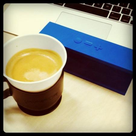 JAMBOXとユニマットのコーヒー