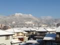 冬のキレイな飯縄山