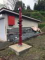 雪国ならではの消火栓