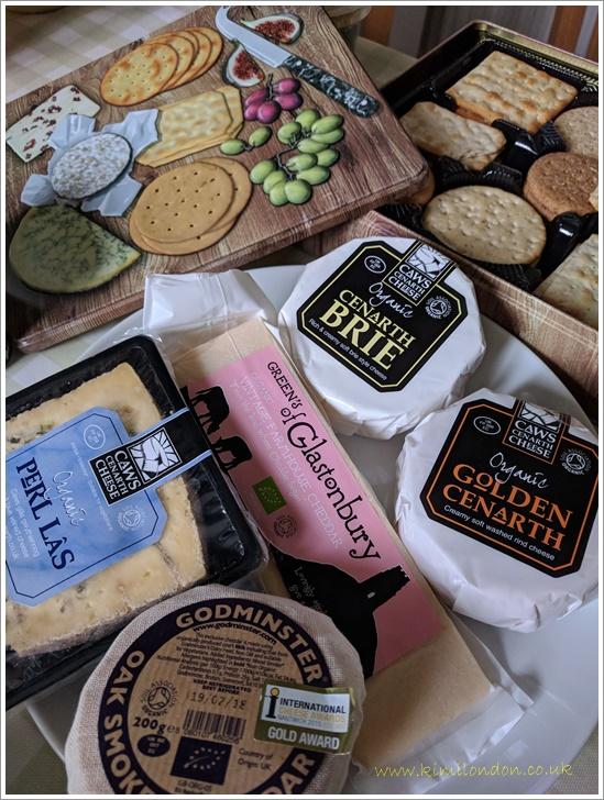 チーズとクラッカー