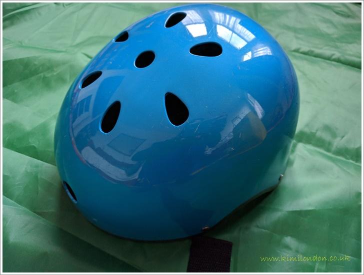 処分したヘルメット