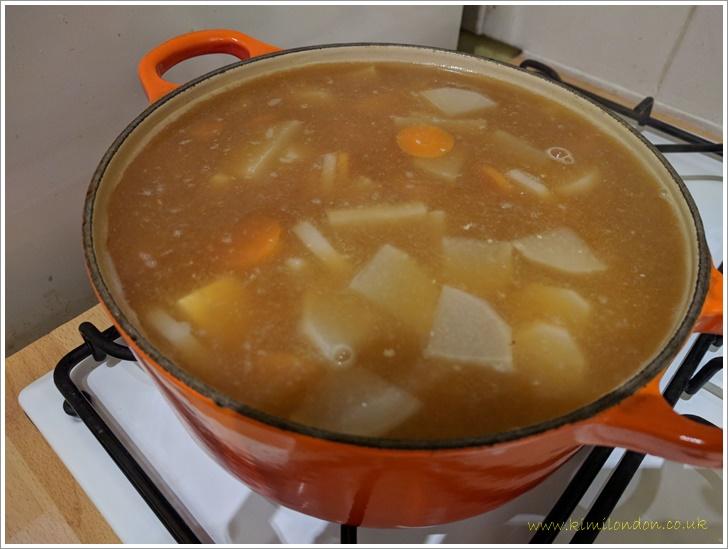 お味噌汁みたいなお雑煮