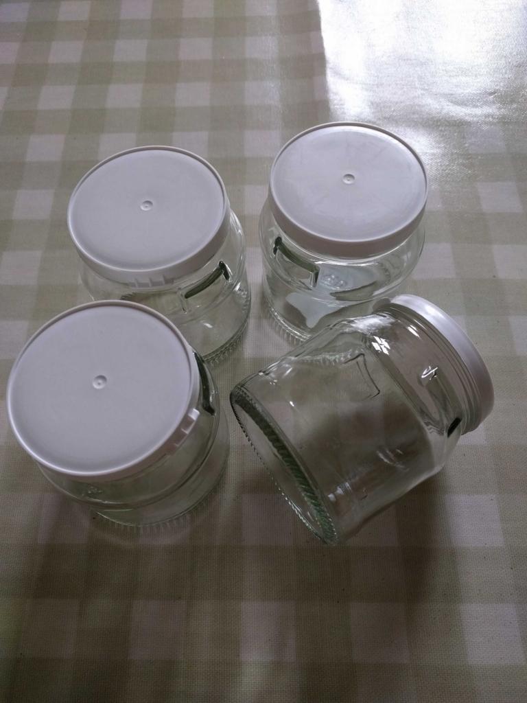 プリン用の容器