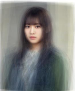 欅坂46の平均顔