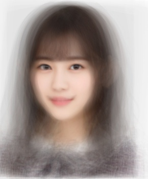 乃木坂46の平均顔