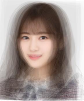 乃木坂46 1期生の平均顔