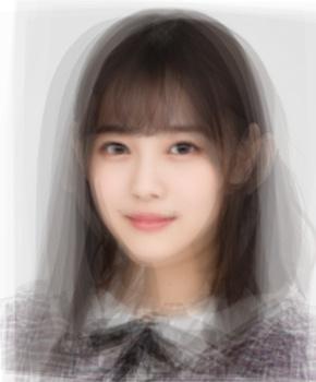 乃木坂46 3期生の平均顔