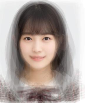 乃木坂46 4期生の平均顔