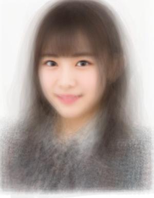AKB48チーム8の平均顔