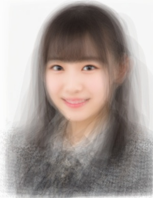 AKB48研究生の平均顔