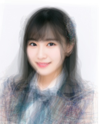 HKT48チームHの平均顔