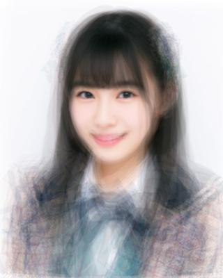 HKT48チームTⅡの平均顔