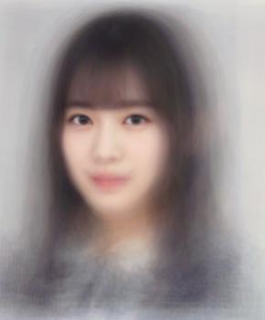 坂道グループの平均顔