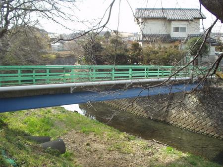 柳瀬川・共開橋①