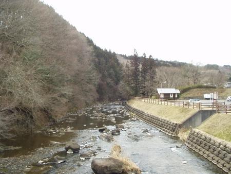 江川(龍門橋より上流側)