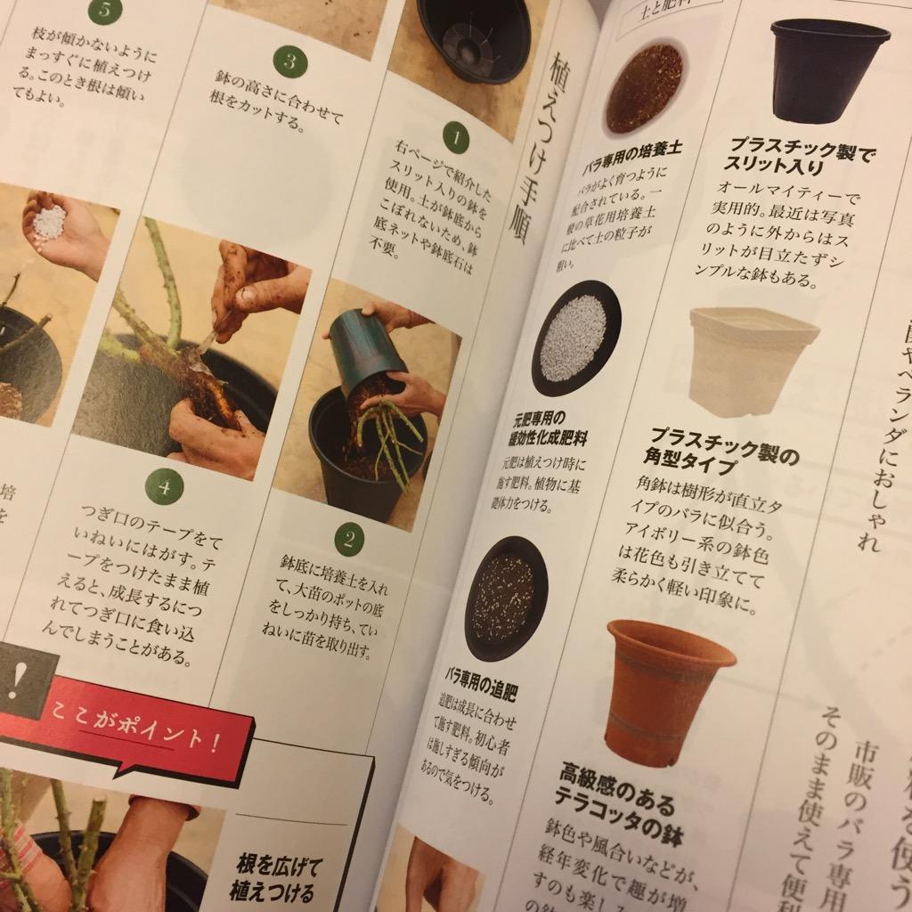趣味の園芸12月五月号テキスト