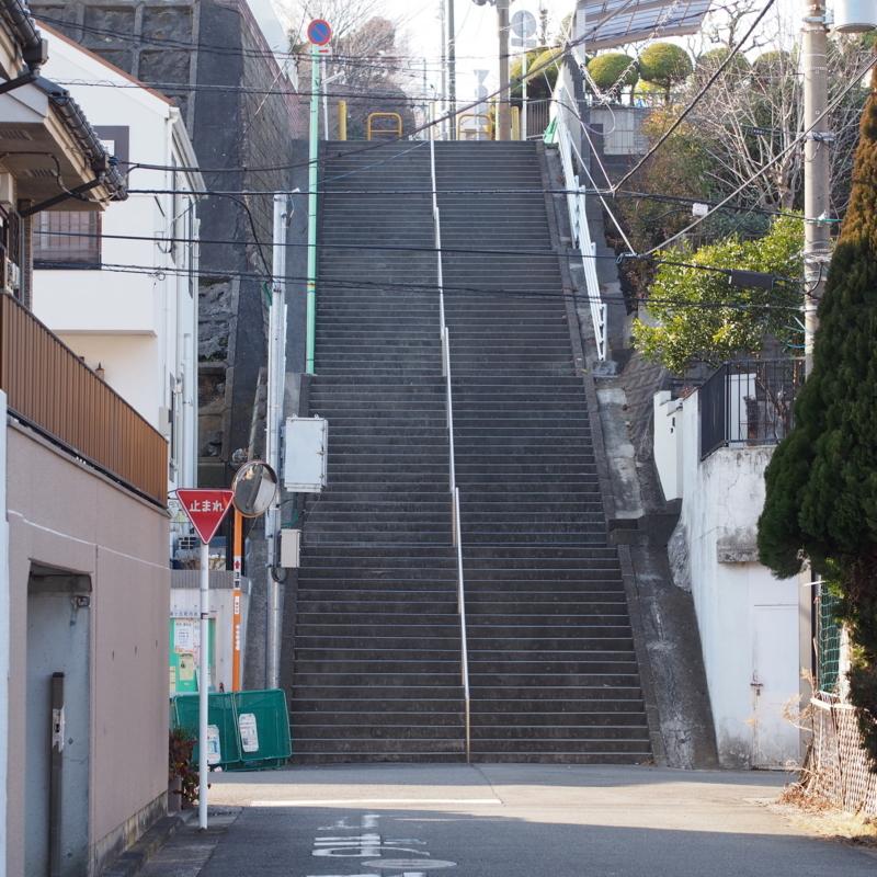 本牧満坂の階段