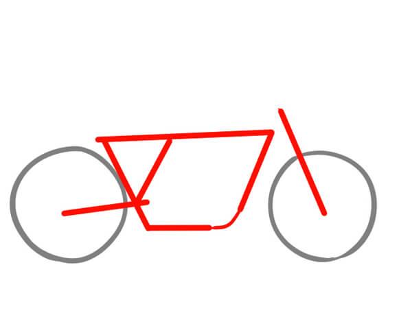カフェレーサーの理想のフレーム形状