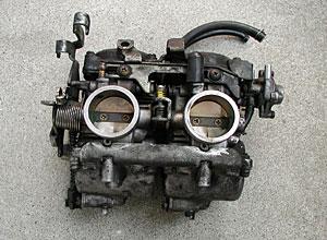エリミネーター250SEのキャブレター(CVK26)