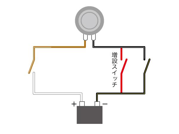 自作イモビライザーの配線図