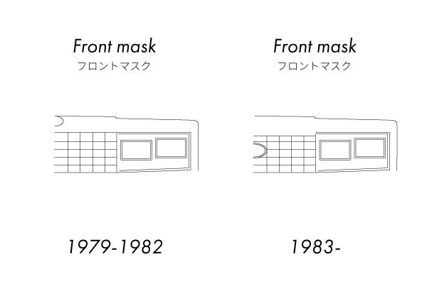 1982年式マスタングと1983年式マスタングの違い