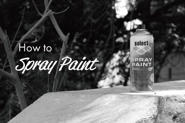 自分でバイクをスプレー缶塗装!絶対に失敗しない6つの方法
