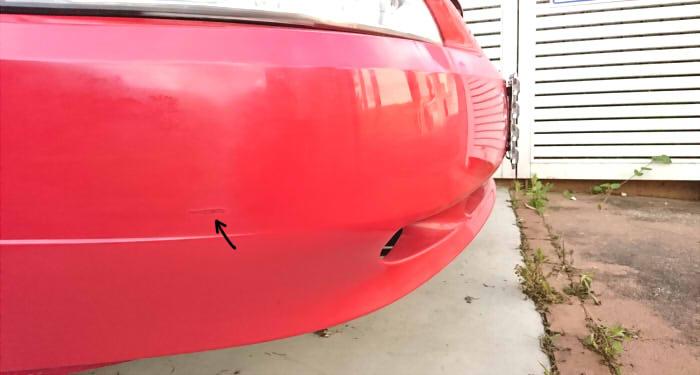 【完全版】車のバンパーひっかき傷を自分で修理する方法|全行程写真